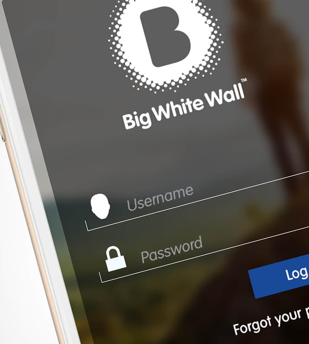 BWW: Mobile App Login Screens