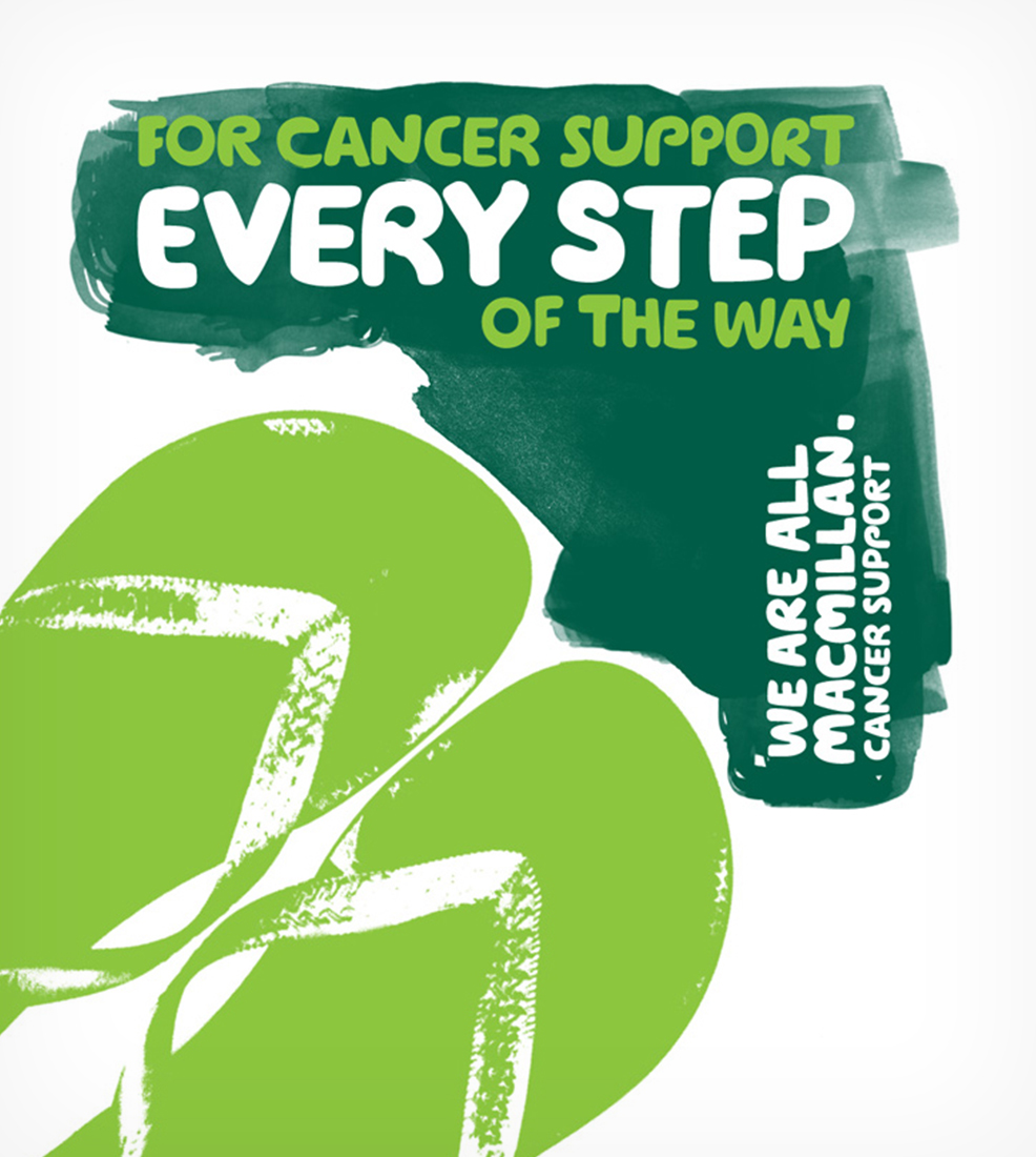 Macmillan Cancer Support: OOH ads