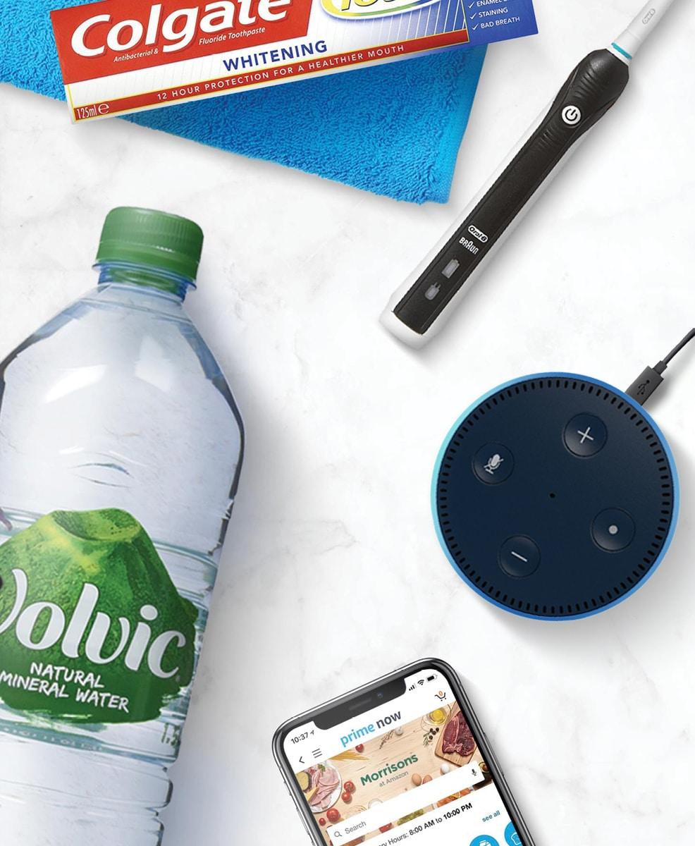 Amazon: Prime Now brand guidelines