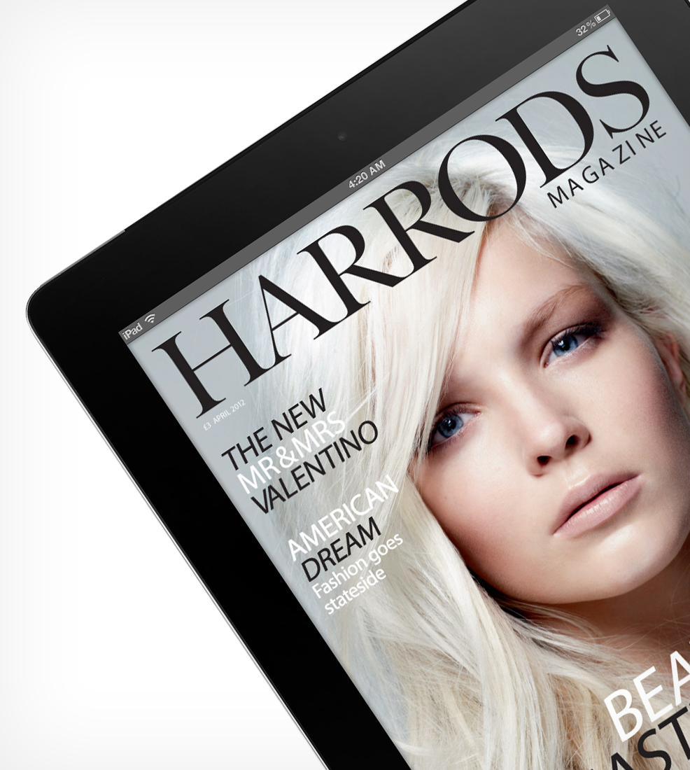 Harrods Magazine iPad App